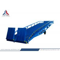 Buy cheap 10 Tons Container Mobile Loading Hydraulic Dock Ramp for Warehouse from wholesalers