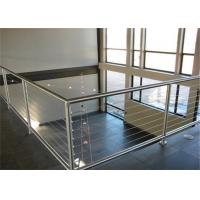 Buy cheap Building stainless steel balcony wire cable railing for outdoor from wholesalers