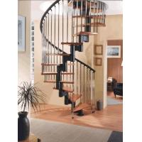 Buy cheap Rustproof Cast Iron Stair Railing For Spiral Staircase / Straight Staircase from wholesalers