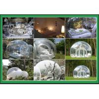 Buy cheap Diameter 3 m PVC Inflatable Outdoor Tent Transparent Bubble For Party from wholesalers