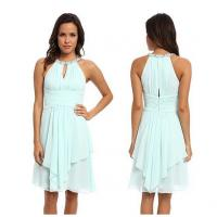 Buy cheap Fashion Light Blue Polyester Sleeveless Western Casual Spring Dresses For Homecoming Party from wholesalers