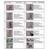 Buy cheap Curtain Pole Brackets from wholesalers