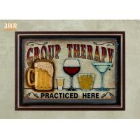 Buy cheap Mix Colors Wooden Wall Signs Home Decorations Wood Wine Wall Art Signs from wholesalers