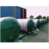 Buy cheap Horizontal Sandblasting Galvanized Steel Water Storage Tanks 300 Litre - 3000 Litre product