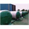 Buy cheap Horizontal Sandblasting Galvanized Steel Water Storage Tanks 300 Litre - 3000 from wholesalers