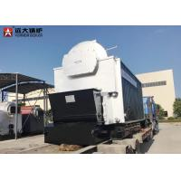Buy cheap 10 Ton Bagasse Fired Steam Boiler , Large Stove Biomass Boiler For Paper Mill from wholesalers
