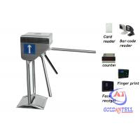 Buy cheap Bus station three arm gate tripod turnstile for Intelligent flow control from wholesalers