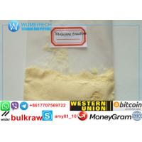 Raw Tren Powder Light Yellow Crystalline Powder Trenbolone Enanthate With Male Hormone Drug Property