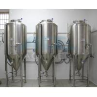 Buy cheap Industrial equipment fruit wine fermentation tank for sale 50L-1000L Automatic Stainless steel wine fermentation Tank from wholesalers