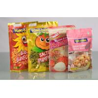 Buy cheap Stand Up Plastic Ziplock Bags , Snack Food Biodegradable Plastic Bags from wholesalers