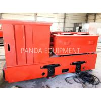 Buy cheap 8T Tunnel Battery Operated Electric Locomotive for Mining , 2.5 Ton explosive- proof underground mine battery locomotive from wholesalers