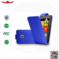 Buy cheap Hot Selling 100% Qualify PU Flip Leather Cover Cases For Nokia Lumia 520 Multi Color from wholesalers