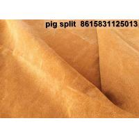 Buy cheap Manufacturers Pig Leather  resined split importers exporters Joyce M.G Group Company Limited from wholesalers