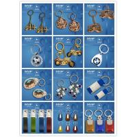 Buy cheap Customized metal souvenir keychain from professional manufacture from wholesalers