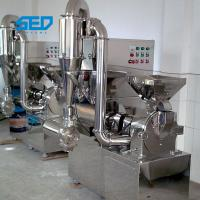 Buy cheap 50 - 500kg/H Low Energy Consumption Capacity Herbal Hammer Mill Spice Grinder Machine For Pharma Industry from wholesalers