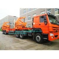 Buy cheap 10 Wheeler 20ft 40ft Container Side Lifter / Container Side Loader Trailer ISO Approval product