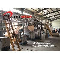 Buy cheap Automatic 2 Ply Corrugated Cardboard Production Line For Paperboard Rolls / Sheets from wholesalers