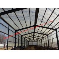 Buy cheap Prefabricated Steel Structure Poultry Farming Shed For Chicken Farm Building And Cattle Farm Building from wholesalers
