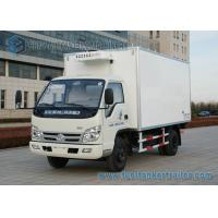 Buy cheap Right Hand Drive Small 4 ton Refrigerator Van Truck FOTON - FORLAND 4x2 from wholesalers