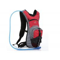 Buy cheap Red Nylon & Dacron Cycling Water Pack , 2L Hydration Backpack For Hiking product