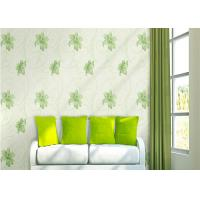 Buy cheap Lily Printing 0.53*10M Custom Country Style Wallpaper With Embossed Surface Treatment from wholesalers