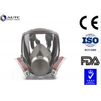 Buy cheap Smooth Breathing Military Gas Mask , Tactical Face Cover Double Filter Cartridge product