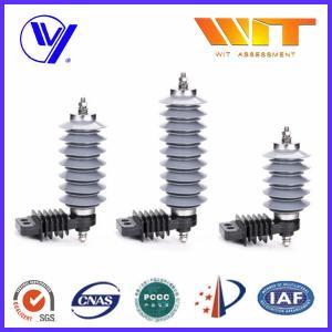 Buy cheap 10KA Polymer Surge Protection Varistor Lightning Arrester 18KV from wholesalers