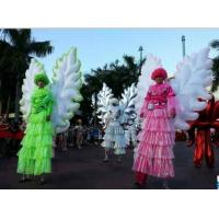 Buy cheap 2m Beautiful Wearable Moving Inflatable Wing For Stage from wholesalers