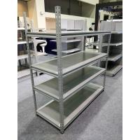 Buy cheap Grey Color Industrial Boltless Shelving Mild Steel Material For Supermarket from wholesalers