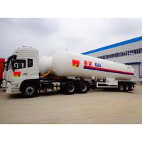 Buy cheap 25 Tons LPG Gas Tanker Truck Trailer 25MT With Dongfeng Tractor Head from wholesalers
