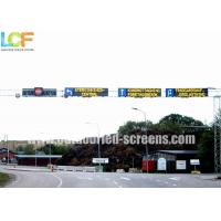 Buy cheap 1/4 Scan Mode P8 Outdoor Illuminated Traffic Signs Fullcolor RGB SMD2828  Light from wholesalers