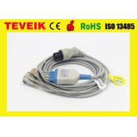 Buy cheap Reusable 5 Leads ECG Trunk Cable With snap For Mindray Patient Monitor from wholesalers