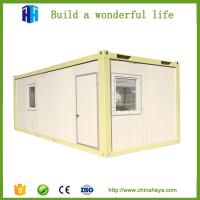 Buy cheap uganda one time molding prefab solar panel green container chalet house from wholesalers