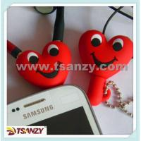 Buy cheap heart shaped earphone splitter, cartoon earphone splitter from wholesalers