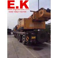 Buy cheap 100ton used hydraulic SANY truck crane (STC1000) truck crane jib crane from wholesalers