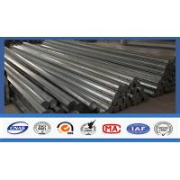 Buy cheap 40 FT Octagonal Hot Dip Galvanized Tubular Steel Poles For Transimission Power Line product