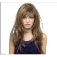 Buy cheap 6A 100 Human Hair Wigs For Black Women , Front Lace Human Hair Wigs from wholesalers