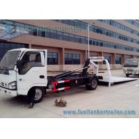 Buy cheap FB 0 - 10 Isuzu Full Landing 0 Degree 9 Ton Flatbed Wrecker Towing Truck from wholesalers