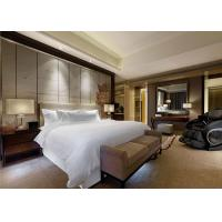 Buy cheap ODM Deluxe Suite Presidential Luxury Hotel Furniture Set For Bedroom from wholesalers