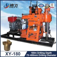 Buy cheap 180m Deep Geotechnical Exploration Water Well Rig Drilling Machine XY-180 Portable from wholesalers