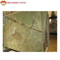 Buy cheap Customized Size Jade Onyx Slab , Green Onyx Marble Big Slab For Coffee Table from wholesalers