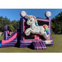 Buy cheap Outdoor Fun House Bounce House / Kids Blow Up Bounce House For  Amusement Park from wholesalers