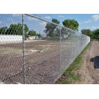 Buy cheap 40 x 40 / 50 x 50 / 60 x 60 Metal Chain Link Fence For Baseball Sport Field from wholesalers