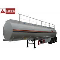 Buy cheap Heavy Oil Fuel Tank Trailer Widely Used To Transport , Tractor Trailer Fuel Tank from wholesalers