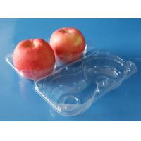 Buy cheap Manufactury Diaposable plastic food packaging container fruit packaging container Apple packaging box 2 pcs Apples product