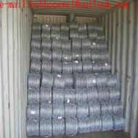 Buy cheap electric fence wire/razor fence/barbed wire for sale by the foot/barbed wire cost/barbed wire fence cost/razor wire from wholesalers