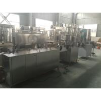 PLC Control PET Can Industrial Linear Linear Filling Machine 1000-2000 Cans / hour