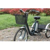 Buy cheap LED Five Adjustable electric cargo tricycle , Shimanuo Derailleur motorized 3 wheel bicycle from wholesalers
