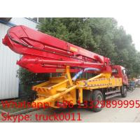 Buy cheap factory sell 28m new boom concrete pump truck for sale from wholesalers