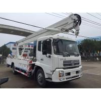 Buy cheap Man Lift Hydraulic Aerial Work Platform Truck With  360° 5.7m Max Operation Radius from wholesalers
